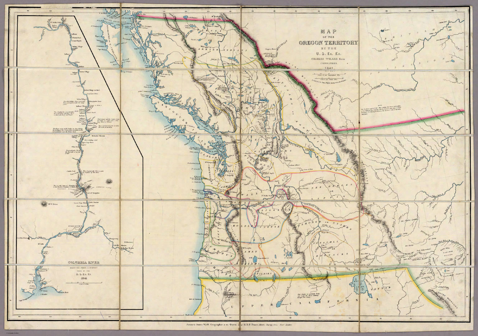 Maps Related To George Washington Bush - Map of orgeon